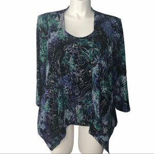 NEW!!!  Alia jacket with attached shell size Large